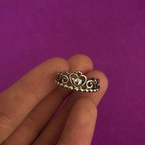 PANDORA Princess Tiara Crown Ring (Silver)
